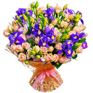 Дизайнерский букет +30% цветов с доставкой в Мичуринске
